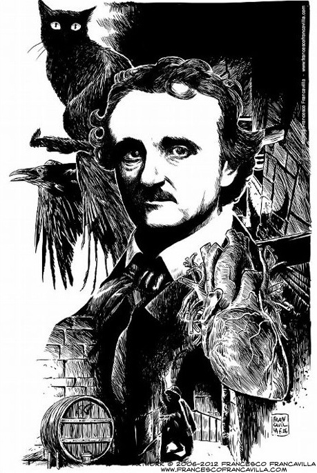 edgar allan poe and gothic imagery Edgar allan poe gothic literature makes extensive use of primitive, medieval, wild mysterious, or natural elements no writer uses these elements to create such dramatic and strong effects as edgar allan poe.